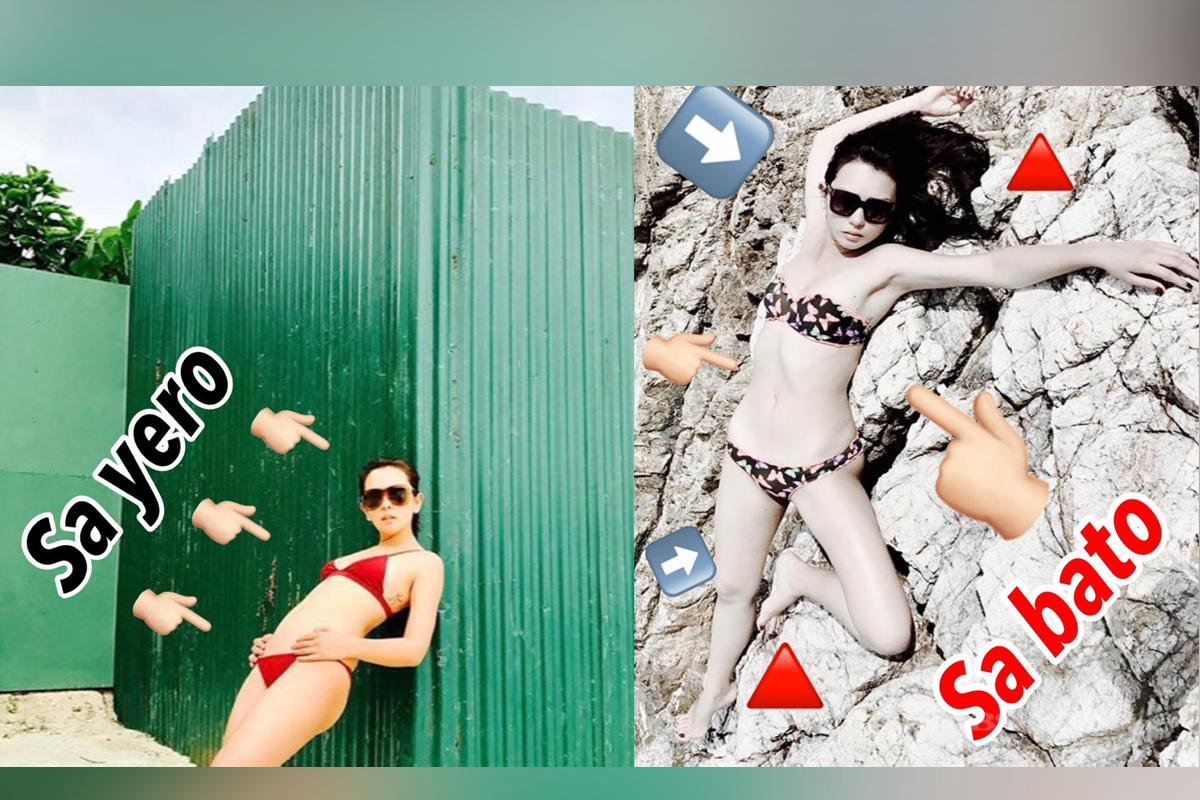 Mga photos ni Beauty na nagpapakitang kaya niya mag-pose kahit saan!