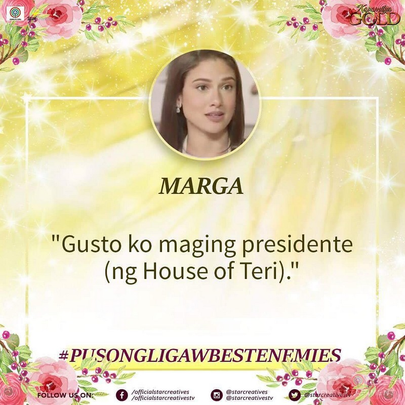 Teri & Marga's One Liners and Quotable Quotes in Pusong Ligaw