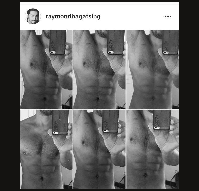 WOW! Just 30 photos of Raymond Bagatsing flaunting his toned ABS!